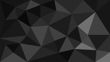 black geometric background - 163787599