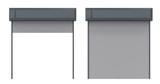 metal shutter door - 163789137