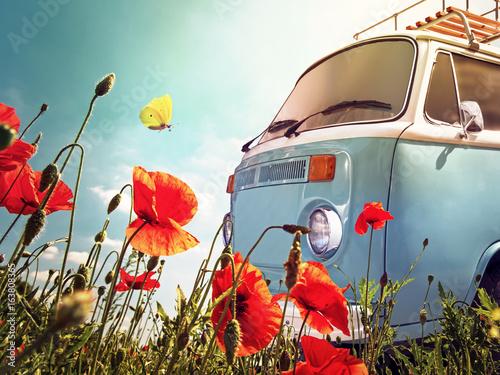 Poster VW Bus Vintage
