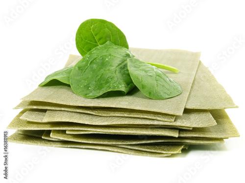 Lasagneplatten - grün