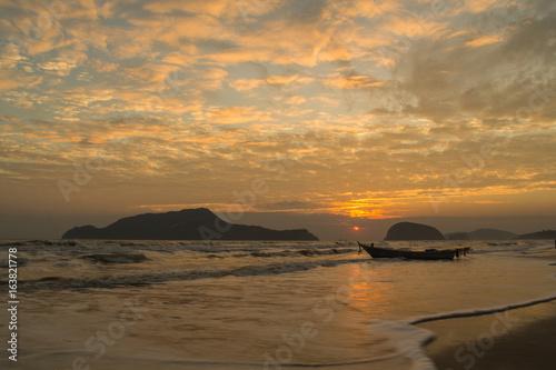 Sunrise Beach, Sam Roi Yot, Prachuap Khiri Khan, Thailand
