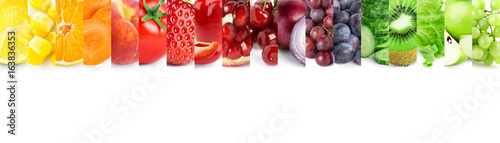 Fruits and vegetables - 163836353