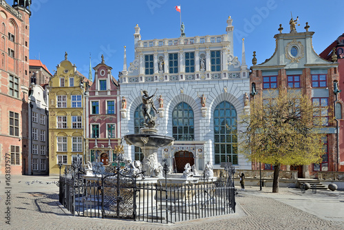 Old town of Gdansk.