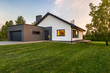 Stylish house with large lawn - 163838730