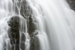 Abstract Waterfall closeup long exposure - 163847537