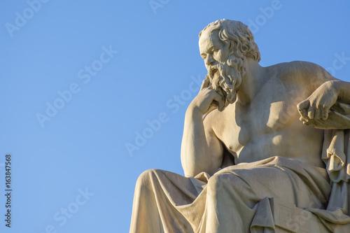 Foto op Canvas Athene Socrates