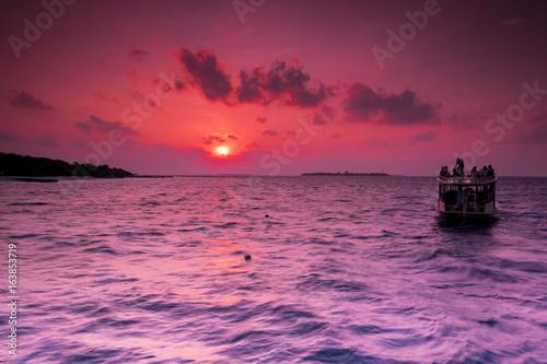 Sunset Cruise on the Maldives