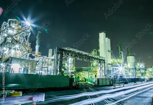 川崎工場夜景 Poster