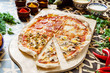 tasty pizza - 163872362