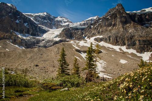 Stanley Glacier in Yoho National Park, Canada