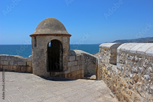 Castillo de Peñíscola, mar Mediterráneo, Castellón (Pontificio del papa luna)