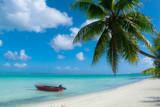 bora bora tropical beach - 163903752