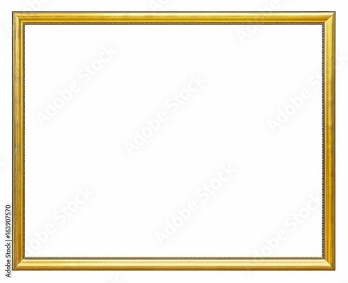 Gold frame for paintings, mirrors or photos | Buy Photos | AP Images ...