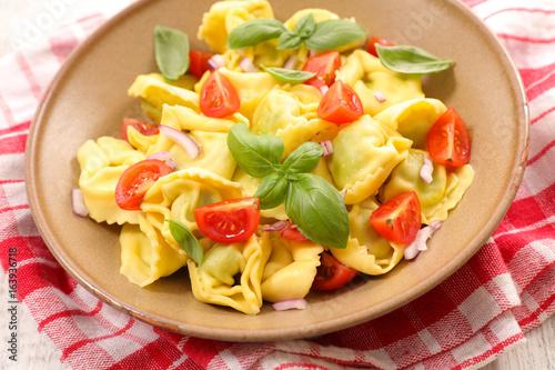 pasta with tomato - 163936718