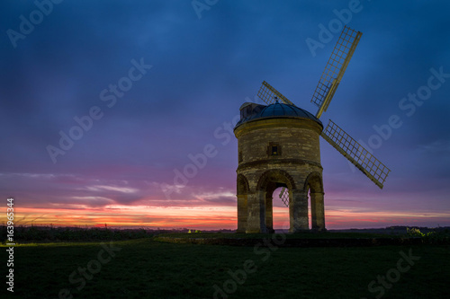 Sunrise at the Windmill Poster