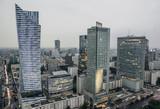 Fototapety Warsaw's financial district