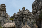 stone formation in torcal national park - 163969304