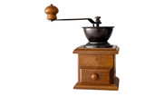 Coffee grinder isolate on white background - 164004904