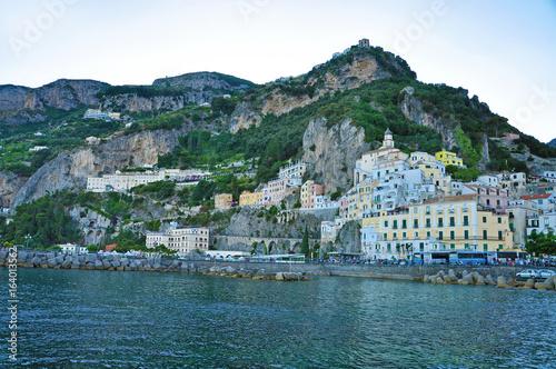 Amalfi is an Italian town, the star of the Amalfi coast