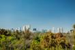 Mexico city skyline from Chapultepec castle