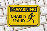 Charity Fraud warning sign