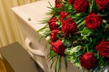 Coffin in morgue - 164063521