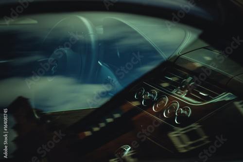 BMW Innenraum плакат