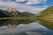 Scenic Colorado Mountain Reflection in Summer