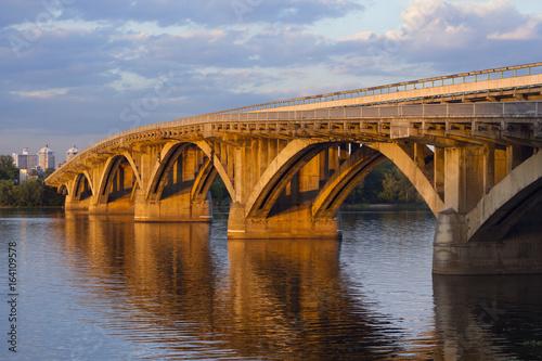 Kiev metro bridge