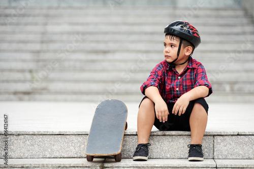 Tired of skateboarding