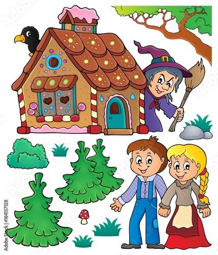 Hansel and Gretel theme set 1