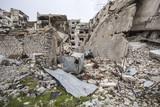 ville détruite homs syrie  - 164150396