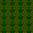 Flowers on a green background - 164158127