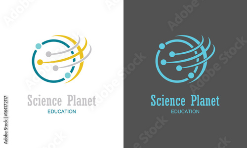 Science planet logo