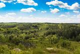 Widok z góry na Jurę Krakowsko-Częstochowską