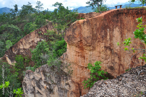 Pai Canyon in rainy season