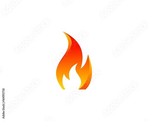 Fire logo - 164193758