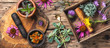 set healthy herbs - 164206525