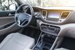 Luxury car interior.