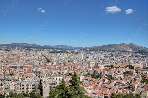Panorama sur Marseille depuis notre dame de la garde