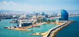 Port Vell i dzielnicy La Barceloneta w Barcelonie