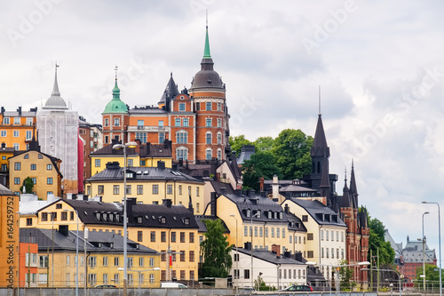 View of Sodermalm in Stockholm, Sweden