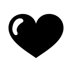 heart love isolated icon vector illustration design