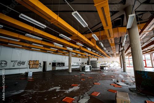 Foto op Aluminium Oude verlaten gebouwen Urban und verlassen