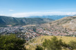 Panoramic view over Mostar, Bosnia and Herzegovina