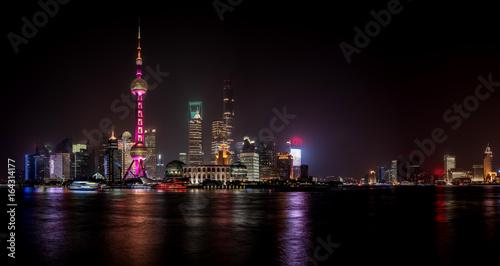Foto op Canvas Shanghai Night view of Shanghai