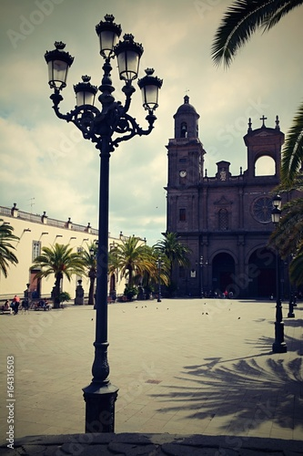 In the streets of Las Palmas, Gran Canaria, Spain