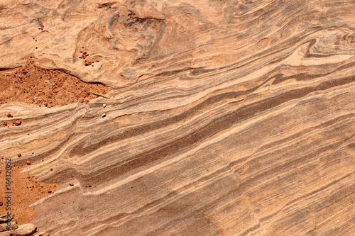 Sandstone Weathered Rock Nature Pattern © Dipali S