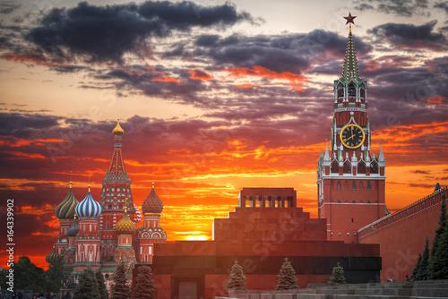 Fotobehang Moskou Red square