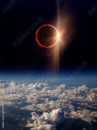 Fotobehang Nasa Solar Eclipse